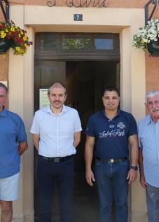 Rencontre A Viola Pdt CCPLM et Conseil municipal Lacassaigne