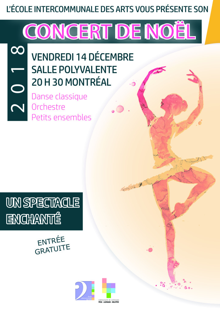 Affiche Concert de Noël EIA CCPLM v2